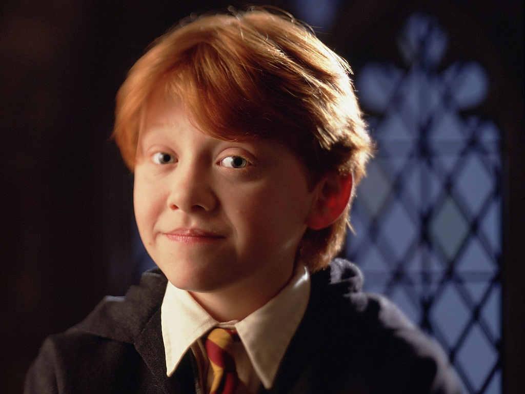 Ron Weasley, come compare nel primo film